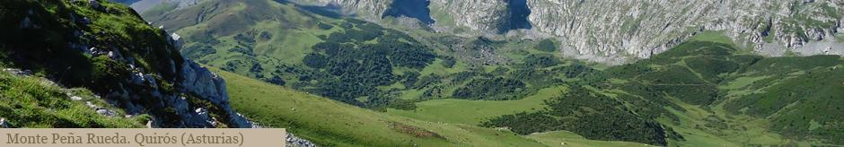Monte Pea Rueda. Quirs (Asturias)